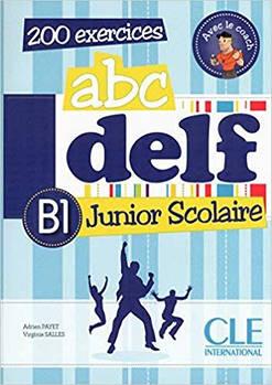 ABC DELF Junior scolaire B1 Livre + DVD-ROM + corriges et transcriptions