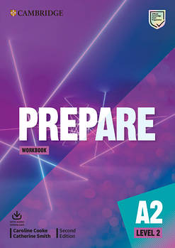 Cambridge English Prepare! 2nd Edition Level 2 Workbook with Downloadable Audio