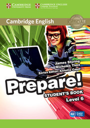 Cambridge English Prepare! Level 6 Student's Book including Companion for Ukraine