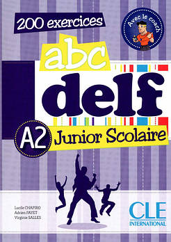 ABC DELF Junior scolaire A2  Livre + DVD-ROM + corriges et transcriptions