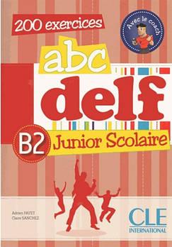 ABC DELF Junior scolaire B2 Livre + DVD-ROM + corriges et transcriptions