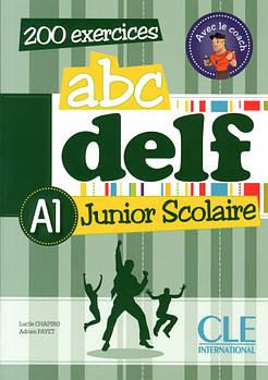 ABC DELF Junior scolaire A1 Livre + DVD-ROM + corriges et transcriptions