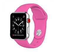 Ремешок для Apple Watch Silicone Band 42 mm Barbie Pink, (Оригинал)