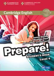Cambridge English Prepare! Level 4 Student's Book including Companion for Ukraine