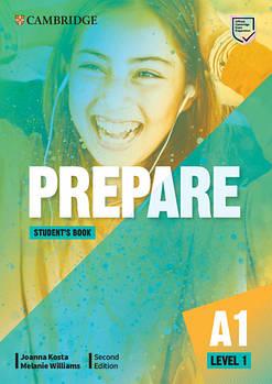 Cambridge English Prepare! 2nd Edition Level 1 Student's Book including Companion for Ukraine