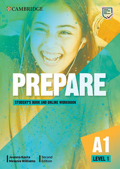 Cambridge English Prepare! 2nd Edition Level 1 Student's Book with Online WB including Companion