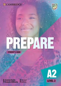 Cambridge English Prepare! 2nd Edition Level 2 Student's Book including Companion for Ukraine