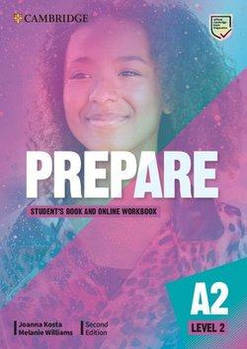 Cambridge English Prepare! 2nd Edition Level 2 Student's Book with Online Workbook including Companion