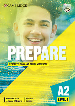 Cambridge English Prepare! 2nd Edition Level 3 Student's Book with Online Workbook including Companion