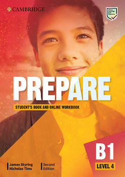 Cambridge English Prepare! 2nd Edition Level 4 Student's Book with Online Workbook including Companion