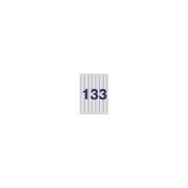 Этикетки самоклеющиеся 133шт., 28х15мм AURIKA