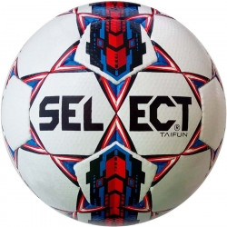 Мяч футбольный SELECT Taifun (017) бел/красн, размер 4