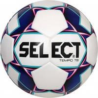 Мяч футбольный SELECT Tempo (012) бело/фиолетовый р.4