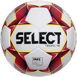 Мяч футбольный SELECT Tempo IMS (010) бело/красн р.5
