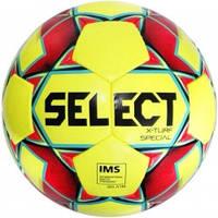 М'яч футбольний SELECT X-Turf Special IMS (018) жовтий/красн р. 5
