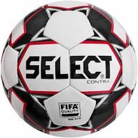 М'яч футбольний SELECT Contra FIFA (014) біло/червоний р. 4