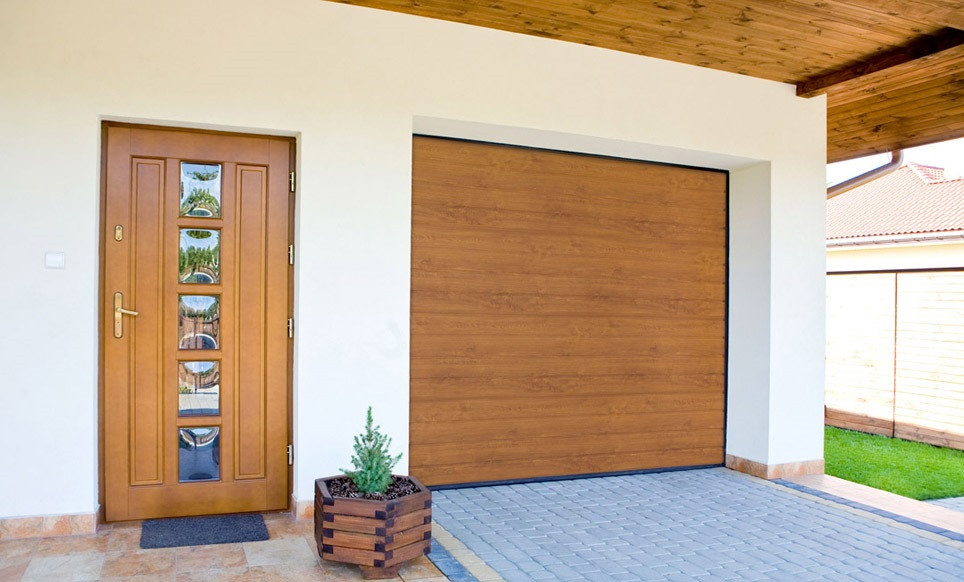 Гаражные ворота(секционные) 3125*2375 Алютех серии TREND.