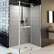 Двері розстібні праві для монтажу зі стінкою Aquaform HD COLLECTION 103-09375, 1000х1900 мм