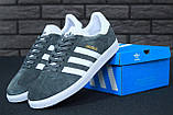 Мужские кроссовки Adidas Gazelle, мужские кроссовки адидас газели, чоловічі кросівки Adidas Gazelle, фото 5