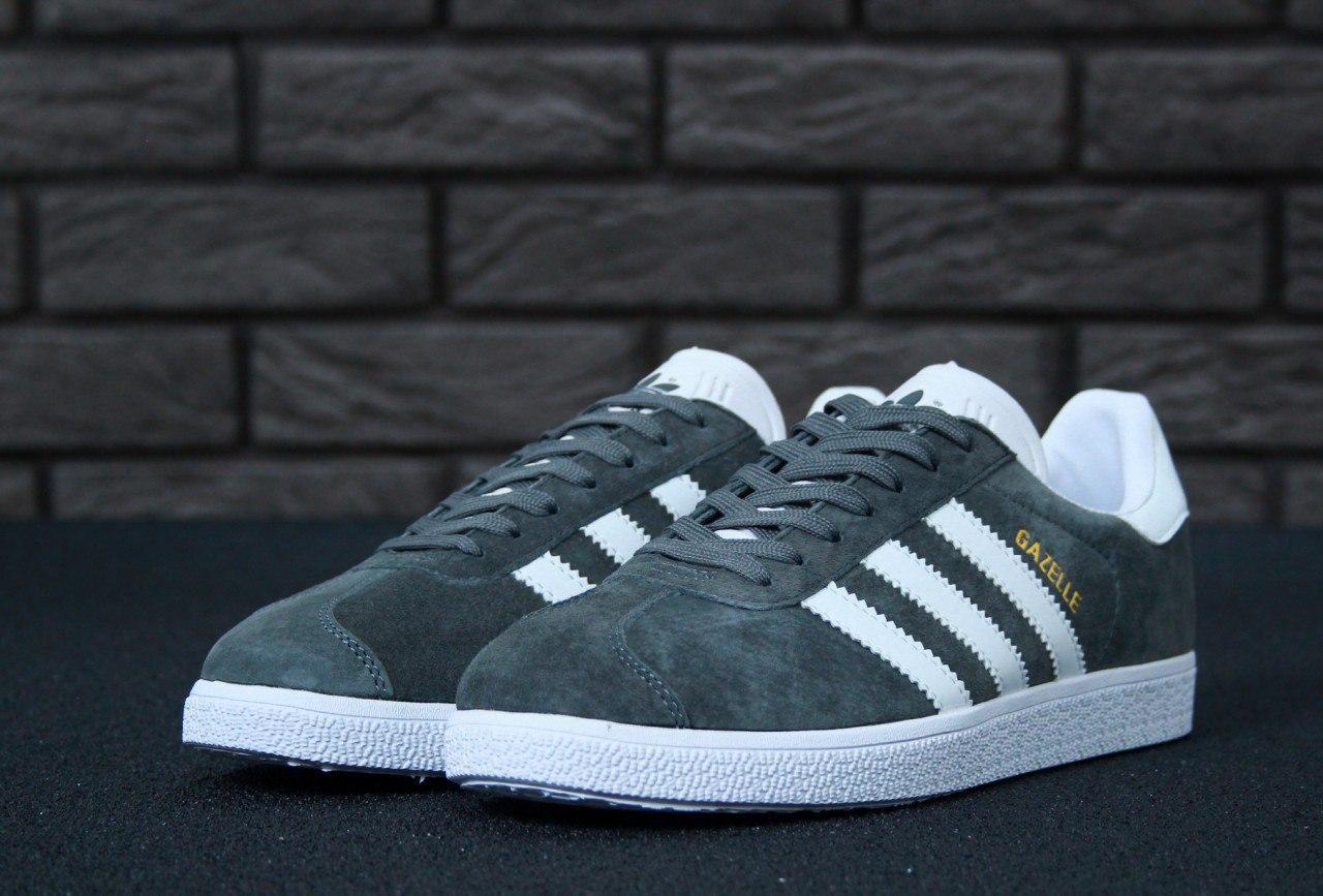 Мужские кроссовки Adidas Gazelle, мужские кроссовки адидас газели, чоловічі кросівки Adidas Gazelle