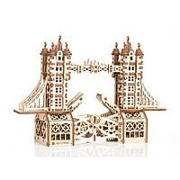 Тауэрский (Лондонский) мост S Mr.Playwood (226 деталей) - механический 3D пазл