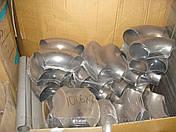 Отвод нержавейка 85,0Х2,0 под молочную трубу, фото 2