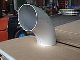 Отвод нержавейка 85,0Х2,0 под молочную трубу, фото 3