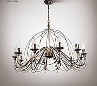 Люстра 12 ламповая для гостиной, зала, большой комнаты 18308