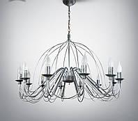 Люстра 12 ламповая для гостиной, зала, большой комнаты  18308-1