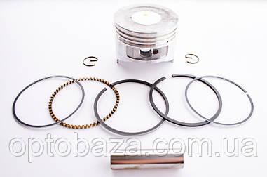Поршень с кольцами (60 мм) для вертикального двигателя Honda GXV 120 (13101-ZE6-003)