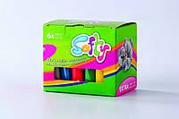 Набор пластилина детского, очень мягкого на восковой основе, (6цветов Х 62гр), SOFTY Darwi