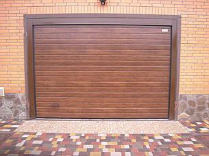 Гаражные ворота (секционные)2500*3000 Алютех серии TREND, фото 2