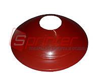 Фишка футбольная для пола малая красная