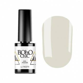 Гель-лак Naomi Boho Chic BC002 Серый , 6 мл