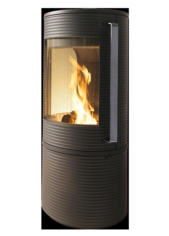 Чугунная печь INVICTA ALTARA (огнеупорная бетонная футеровка)
