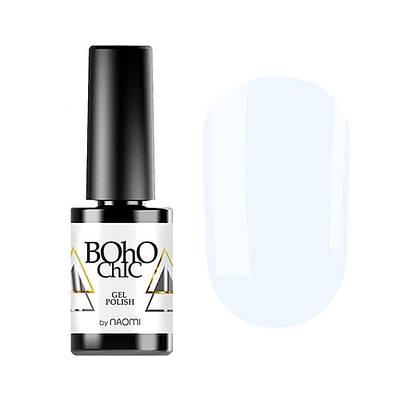 Гель-лак для ногтей Naomi Boho Chic BC003 Голубой, 6мл