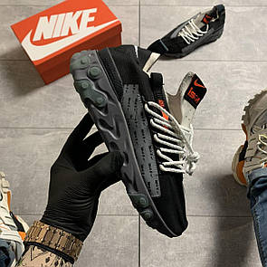 Мужские Кроссовки Nike React WR ISPA in Velvet Black