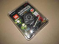 Разветвитель прикуривателя, (WF-021) 2в1 ,удлинитель, LED индикатор, <ДК>