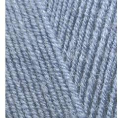 Пряжа для вязания Лана голд файн 221 светлый джинс