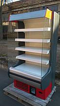 Холодильний регал Росс Модена 1 м. бу., холодильна гірка б/у,регал б/у.