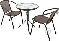 Комплект садовой мебели (круглый столик и 2 кресла ), фото 1