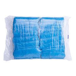 Бахіли 3 р 40х15 см 100 шт блакитні