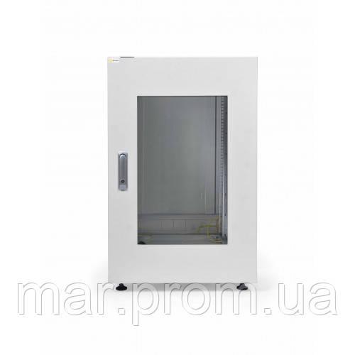 Шкаф коммутационный напольный 24U 600x600 перфорированная дверь