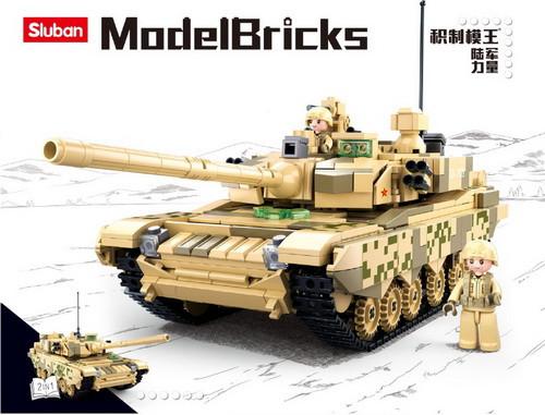 """Конструктор Sluban M38-B0756 """"Танк"""""""