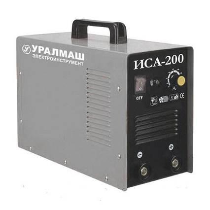 Инверторный сварочный аппарат Уралмаш ИСА-200