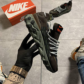 Мужские Кроссовки Nike React WR ISPA in Velvet Brown & Terra