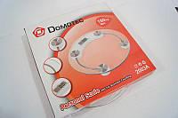 Электронные напольные весы круглые Domotec до 180 кг, Електронні підлогові ваги круглі Domotec до 180 кг