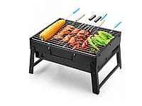 Складной гриль барбекю, портативный гриль BBQ Grill Portable md-258, портативный мангал, Мангалы, грили и барбекю, Мангали, грилі і барбекю