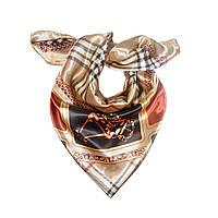 Женский платок, Кофейный, Шарфы и платки, Шарфи і хустки, Жіночий хустку, Кавовий