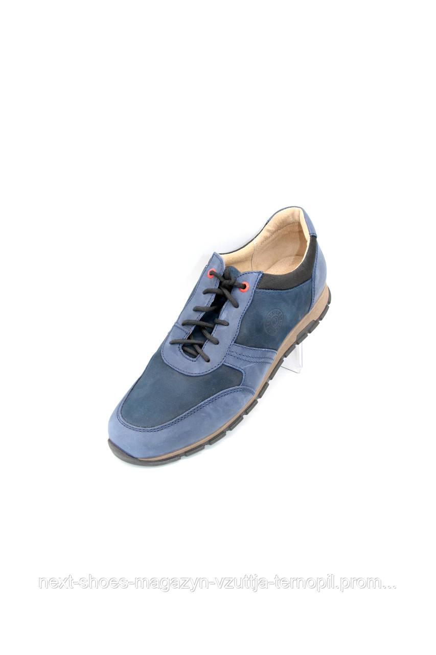 Чоловічі кросівки Lesta (Польща) синього кольору. Зручні та модні.